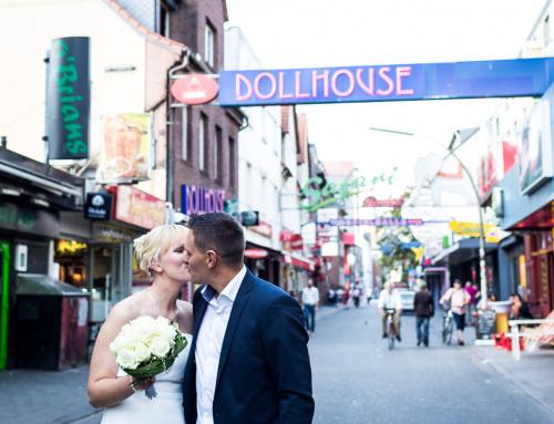 Kathleen und Michael – Paarshooting auf St. Pauli