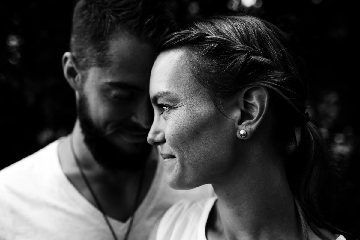 Anja und Gerrit – ein Paarshooting am See